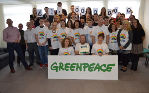 Greenpeace team